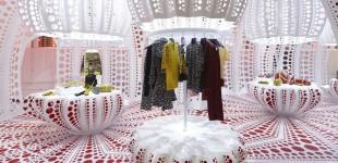 Louis Vuitton & Yayoi Kusama concept store