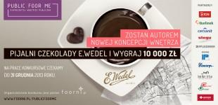 Konkurs: PUBLIC foor ME – zaprojektuj wnętrze Pijalni Czekolady E.Wedel