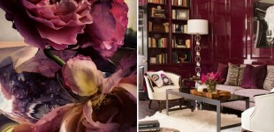 Sweet wine in interiors - the sensual Marsala announced as the color of the year 2015 according to Pantone